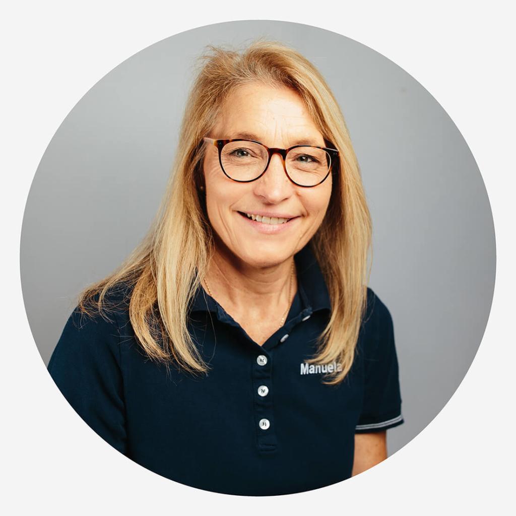 ganzheitliche, systemische Kieferorthopädie München - Schneider - Team - Manuela Koppe